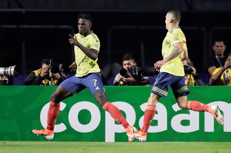 Copa America: Duvan Zapata's 86th Minute Header vs Qatar Sends Colombia into Quarters