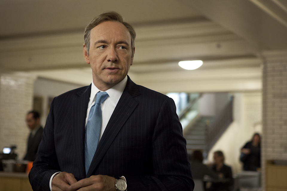 Kevin Spacey in a scene from House of Cards. (Netflix)