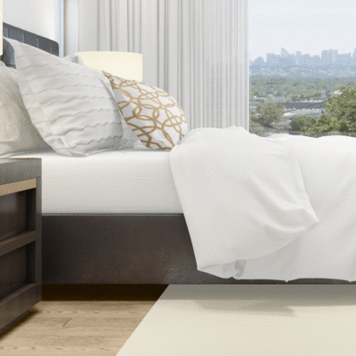 """<p><strong>Beddley</strong></p><p>beddley.com</p><p><strong>$130.00</strong></p><p><a href=""""https://beddley.com/collections/white-duvet-covers/products/white-cotton-duvet-cover"""" rel=""""nofollow noopener"""" target=""""_blank"""" data-ylk=""""slk:Shop Now"""" class=""""link rapid-noclick-resp"""">Shop Now</a></p><p>If you want to prioritize practicality, spring for Beddley's cotton option. Unlike most duvet covers—which open only on one or two sides—<a href=""""https://beddley.com/"""" rel=""""nofollow noopener"""" target=""""_blank"""" data-ylk=""""slk:Beddley"""" class=""""link rapid-noclick-resp"""">Beddley</a> has an innovative three-side zip system to make inserting your comforter a lot easier. And thanks to the four internal ties, you won't have to worry about your duvet bunching up in one corner overnight. </p>"""
