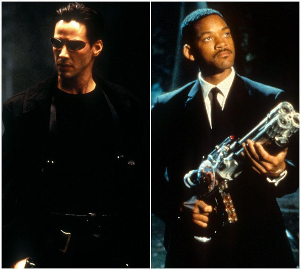 Keanu Reeves and Will Smith (Photo: Rex/Getty)