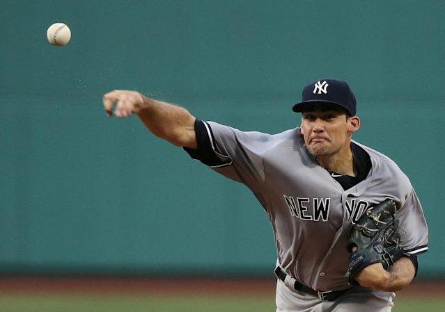 "<a class=""link rapid-noclick-resp"" href=""/mlb/players/9007/"" data-ylk=""slk:Nathan Eovaldi"">Nathan Eovaldi</a> is expected to miss 2017 with two arm injuries. (Getty Images/Jim Rogash)"
