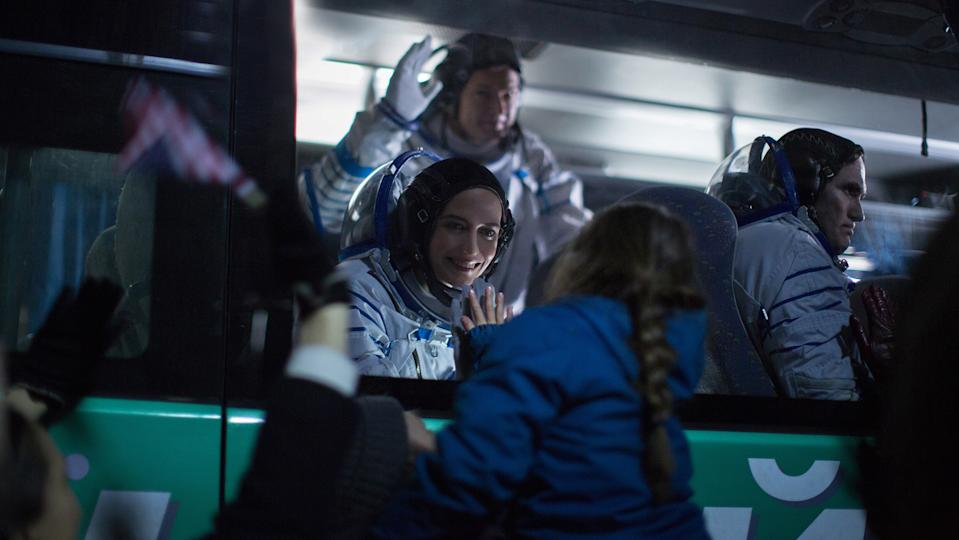 A still from Proxima featuring Eva Green. (Picturehouse Entertainment)