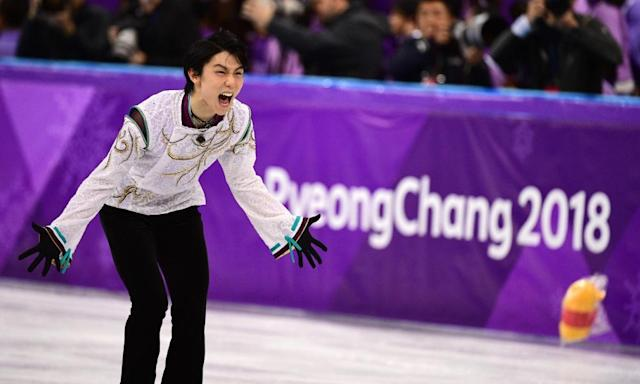 Yuzuru Hanyu retains Olympic figure skating gold as Nathan Chen roars back