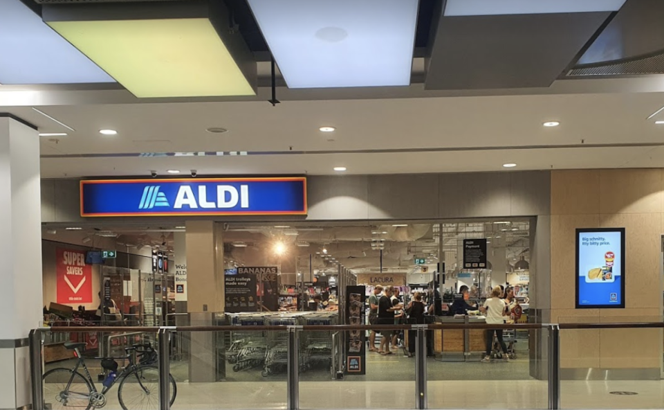 People who shopped at Aldi at Eastgate Bondi Junction should check the time they were there; Source: Google Maps