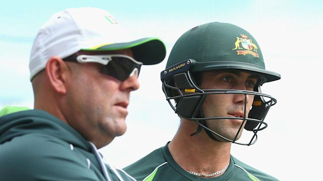 Glenn Maxwell scored his maiden Test century in India and Darren Lehmann has urged the all-rounder to nail down his place.
