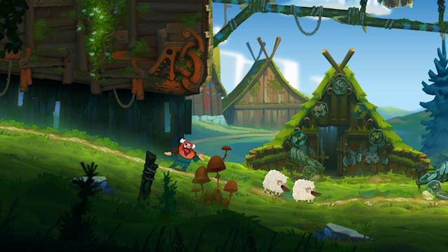 'Oddmar' is a gorgeous, quirky platformer that should be in the running for mobile game of the year.