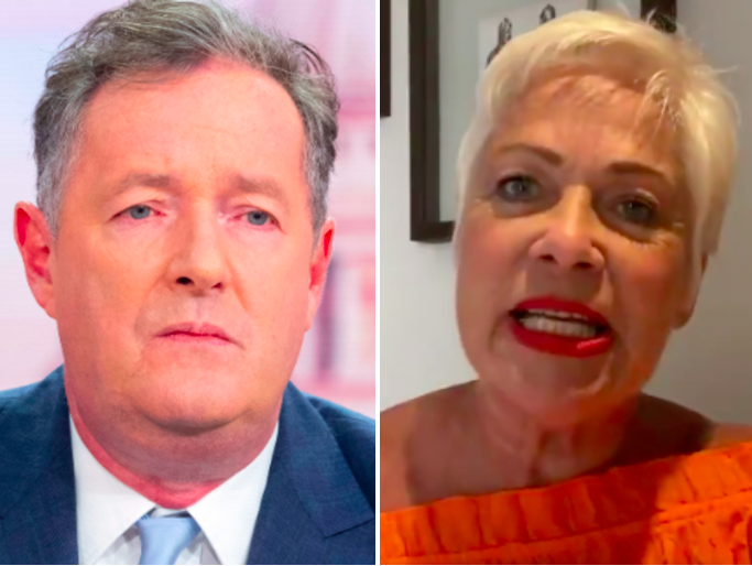 Piers Morgan and Denise Welch: ITV