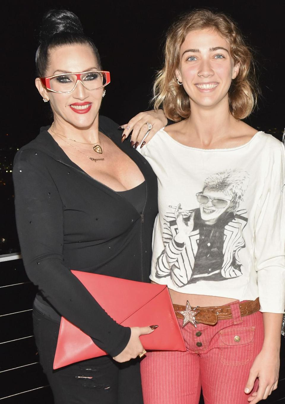 Michelle Visage with daughter Lillie Case in 2017. (Photo: Rodin Eckenroth/Getty Images)