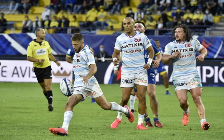 Scrum-half Teddy Iribaren inspired Racing 92 to a convincing win over Clermont and a place in the semi-fionals of the European Champions Cup