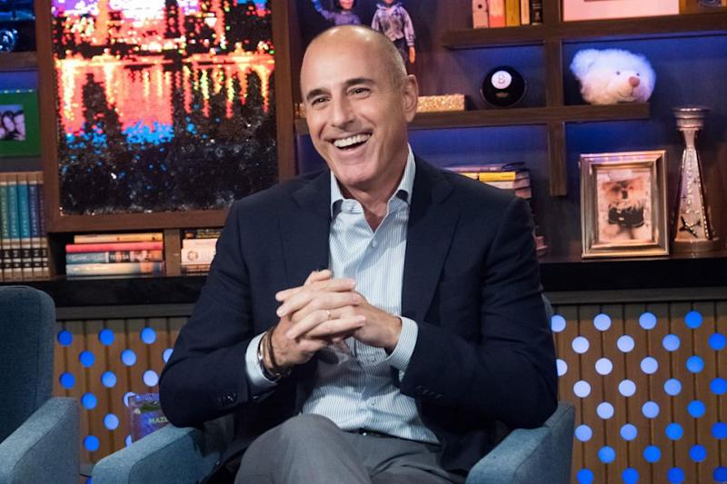 WATCH WHAT HAPPENS LIVE WITH ANDY COHEN -- Pictured: Matt Lauer. Source: Getty