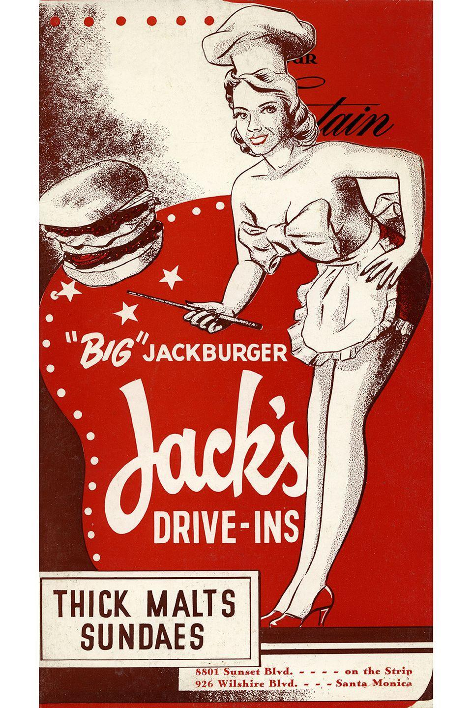 "<p>Customers embraced the drive-in trend, which introduced car-side service by ""carhop"" waiters and waitresses at restaurants like A&W.</p>"