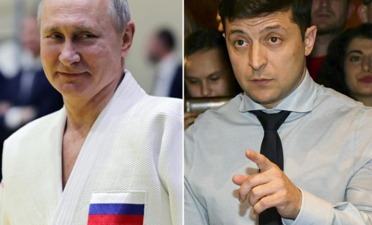 The experienced Putin has Russia in a judoka's iron grip -- whereas Zelensky is a greenhorn just months into his term