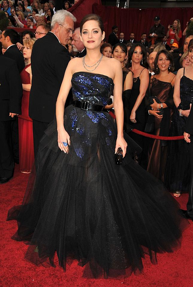 Marion Cotillard at the 81st Annual Academy Awards - Feb. 22, 2009
