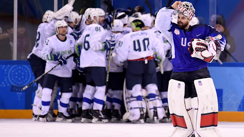 Beaten U.S. hockey team set for another great Olympic story