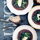 """A garnish of crisp-tender broccoli is the perfect way to balance this hearty stew. <a href=""""https://www.epicurious.com/recipes/food/views/lamb-and-broccoli-stew-51144020?mbid=synd_yahoo_rss"""" rel=""""nofollow noopener"""" target=""""_blank"""" data-ylk=""""slk:See recipe."""" class=""""link rapid-noclick-resp"""">See recipe.</a>"""