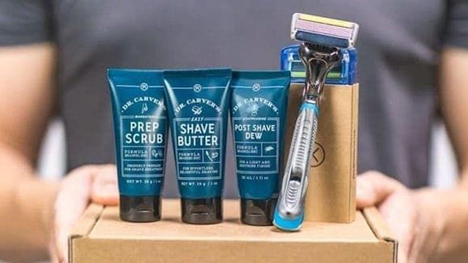 The best gifts for men: Dollar Shave Club.