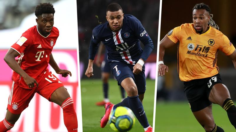 FIFA 21 pace ratings: Traore, Mbappe and the 20 fastest players