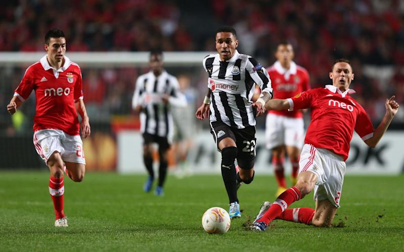 Sylvain Marveaux in action for Newcastle - Credit: Getty Images