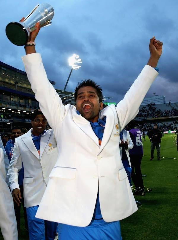 Vinay Kumar was a part of the ICC Champions Trophy-winning Indian team