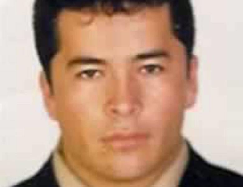 FILE - This undated file photo, downloaded from the Mexico's Attorney General's Office most wanted criminals webpage on Nov. 2, 2010, shows alleged Zeta drug cartel leader and founder Heriberto Lazcano Lazcano in an undisclosed location. Despite the crowd, nobody is willing to admit they were there the afternoon of Oct. 7 or saw the shootout just outside the ball field in the heart of Coahuila state. Mexican marines gunned down Lazcano. (AP Photo/Mexico's Attorney General's Office, File)