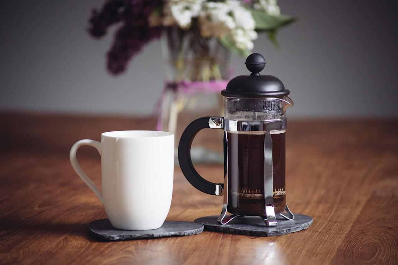 """<p>Name a cyclist who doesn't like <a href=""""https://www.runnersworld.com/news/a24567828/hot-brew-coffee-antioxidants-study/"""" target=""""_blank"""">coffee</a>-we'll wait. Research shows that caffeine may reduce your times, boost recovery, and relieve muscle pain, along with <a href=""""https://www.runnersworld.com/nutrition-weight-loss/g23363702/benefits-of-coffee/"""" target=""""_blank"""">a host of other benefits</a>. Plus, it's a beverage plenty of us would never start the day without, whether we're striving for a PR or simply sitting on the couch reading the newspaper (or, ahem, the latest issue of <em>Bicycling</em>).</p><p>But like any daily ritual, it's easy to get stuck in a coffee rut: the same beans, the same brew method, the same mug. That changes with these coffee gifts. Here, you'll find 15 upgrades-some splurges, some stocking stuffers-that make mornings a little sweeter (a.k.a. more caffeinated). Check out these <a href=""""https://www.runnersworld.com/gear/g20856300/the-best-gifts-for-runners/"""" target=""""_blank"""">gifts</a> for the coffee lovers in your life.</p>"""