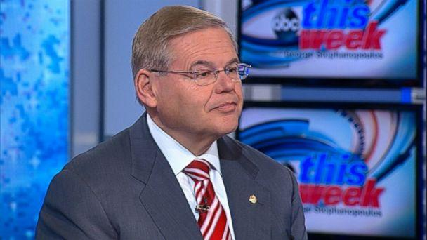 ABC robert menendez jt 131110 16x9 608 Sen. Robert Menendez Says U.S. Should Move Forward with New Iran Sanctions