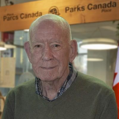 Mr. Tom Lee. Photo Credit: Parks Canada (CNW Group/Parks Canada)