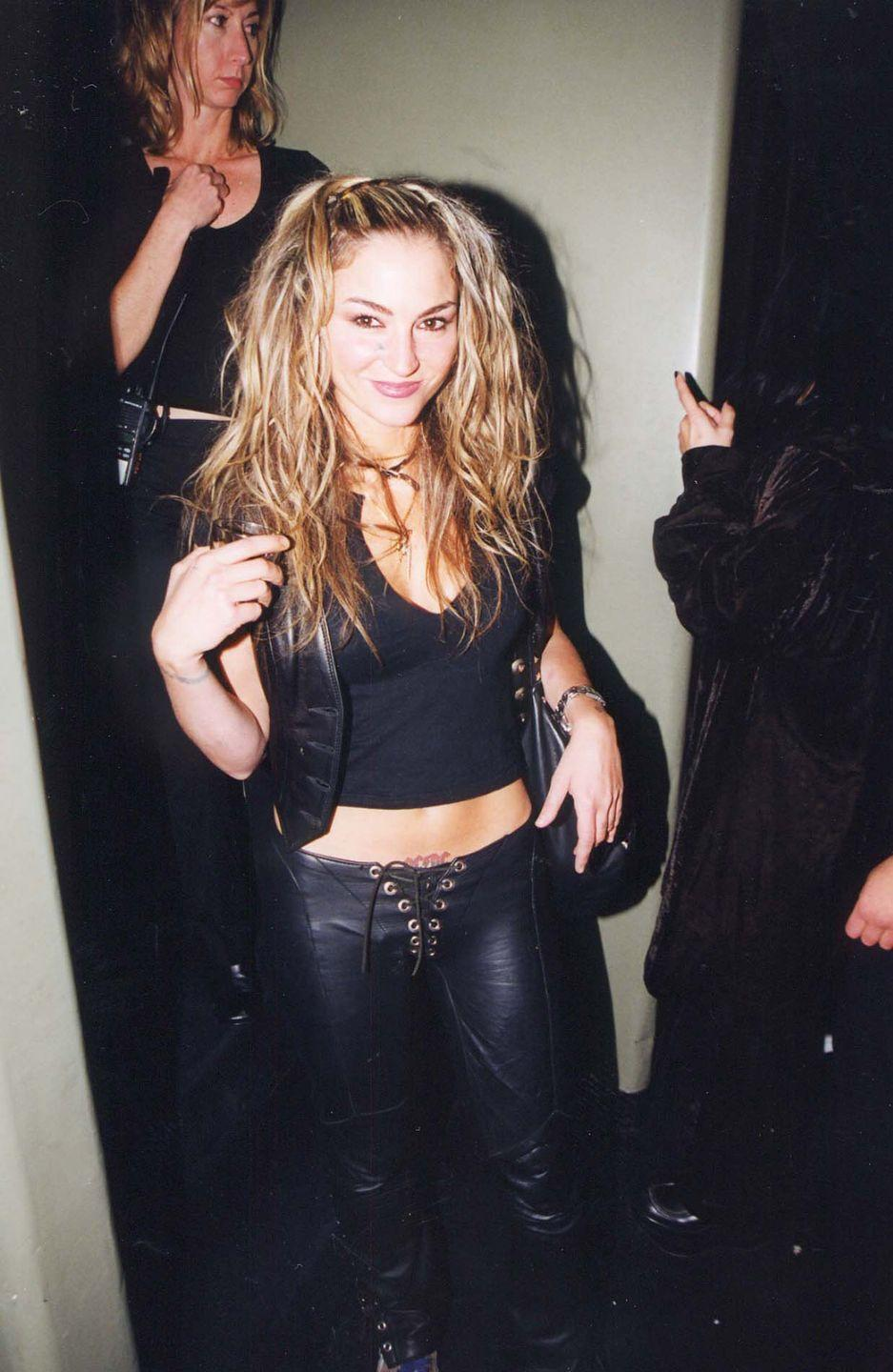 <p>Drea de Matteo attends a performance by The Cult at The Viper Room in Los Angeles on February 26, 2000.</p>