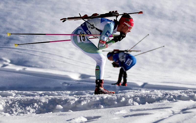 People were asked to rate mugshots of male and female biathletes - Lisi Niesner