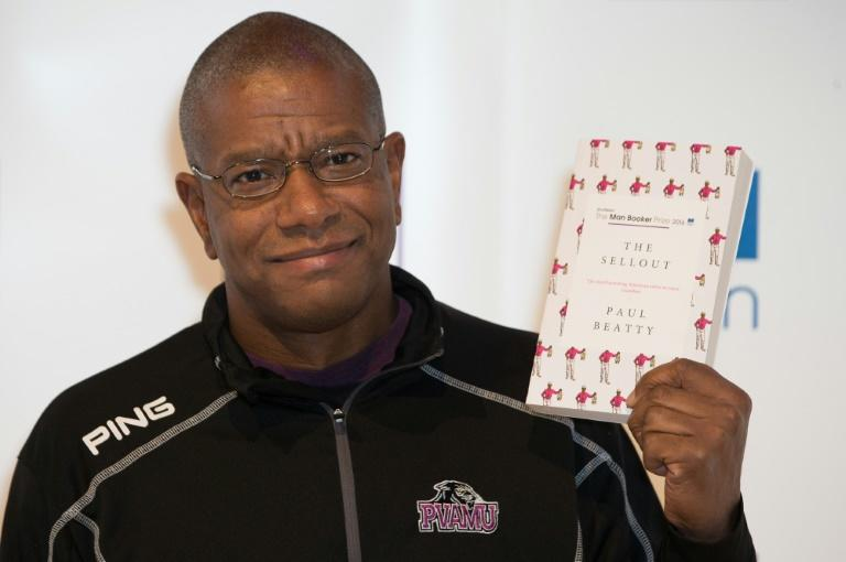 US author Paul Beatty won the Booker last year for his novel 'The Sellout'