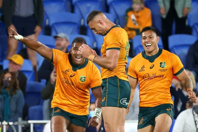 Quade Cooper nailed a last-gasp penalty to help Australia beat South Africa (AFP/Patrick HAMILTON)