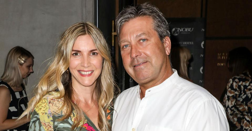 Lisa Faulkner and John Torode got married on Thursday 24 October (Photo: Brett Cove/SOPA Images/LightRocket via Getty Images)