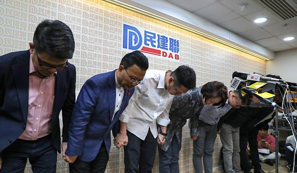 The Democratic Alliance for the Betterment and Progress of Hong Kong is currently the city's largest pro-establishment party. Photo: Robert Ng