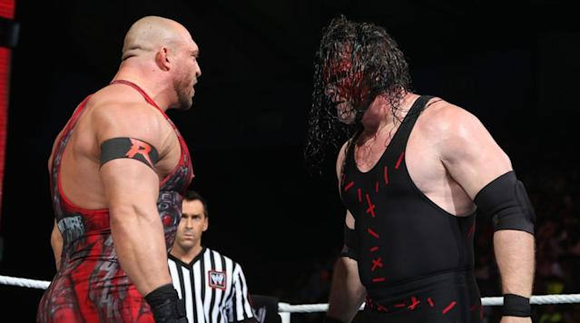 WWE wrestler Glenn Jacobs, who goes by the ring name Kane, formally announced his candidacy to become mayor of Knox County, Tenn., on Tuesday.