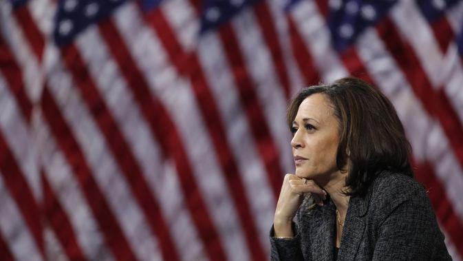 Cawapres Kamala Harris. Dok: AP Photo
