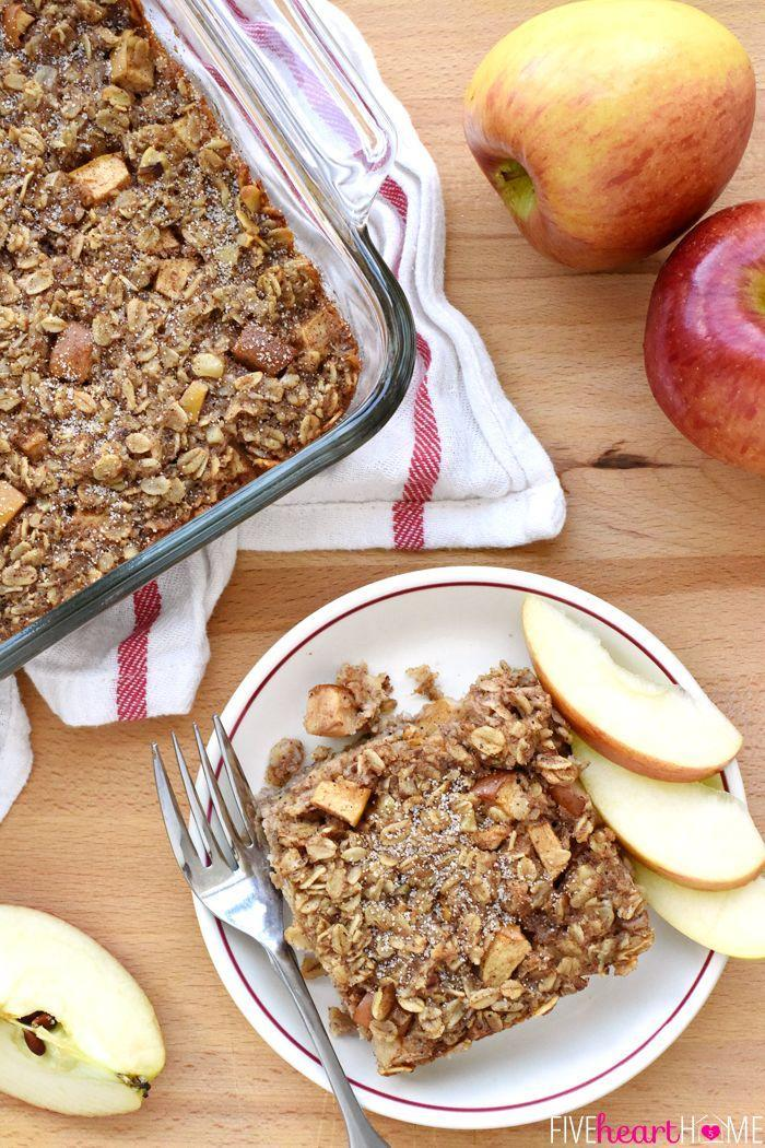 "<p>This make-ahead dish is everything we love about fall.</p><p><strong>Get the recipe at </strong><a href=""http://www.fivehearthome.com/2015/09/03/apple-cinnamon-baked-oatmeal/"" rel=""nofollow noopener"" target=""_blank"" data-ylk=""slk:Five Heart Home."" class=""link rapid-noclick-resp""><strong>Five Heart Home.</strong></a></p>"