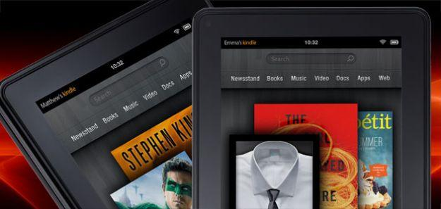 Kindle Fire update offers in-book sharing, document storage, DRM fix