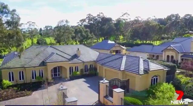 Underworld figure Mick Gatto's home is up for sale. Source: 7News