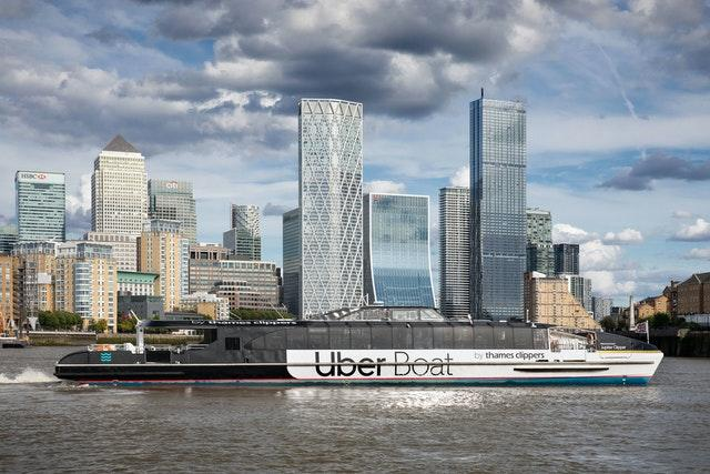 Uber teams with Thames Clippers to launch Uber Boat