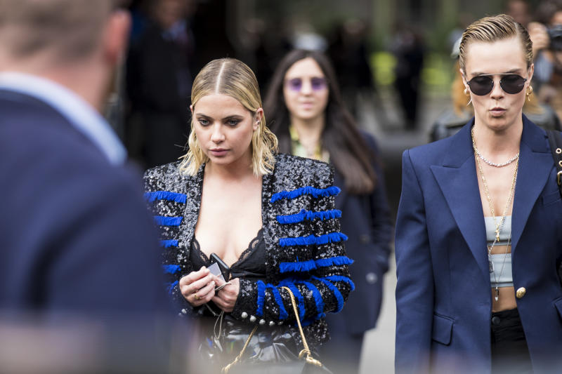 Cara Delevingne Makes Rare Comment About Ashley Benson