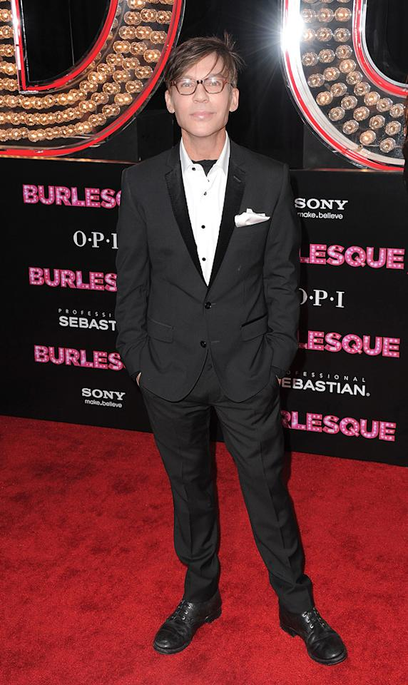 """<a href=""""http://movies.yahoo.com/movie/contributor/1800022038"""">Steven Antin</a> at the Los Angeles premiere of <a href=""""http://movies.yahoo.com/movie/1810125282/info"""">Burlesque</a> on November 15, 2010."""