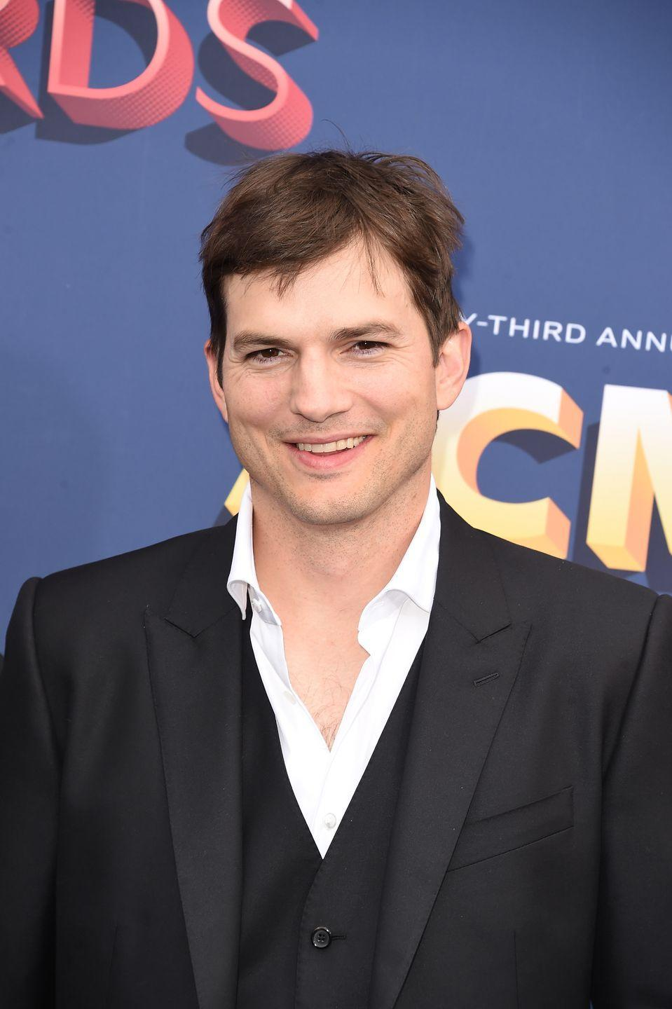 <p>Once the mustache comes off, Kutcher becomes the beloved star of <em>That 70's Show</em> all over again. </p>