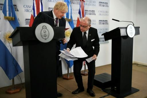Faurie and Johsnon held a joint news conference