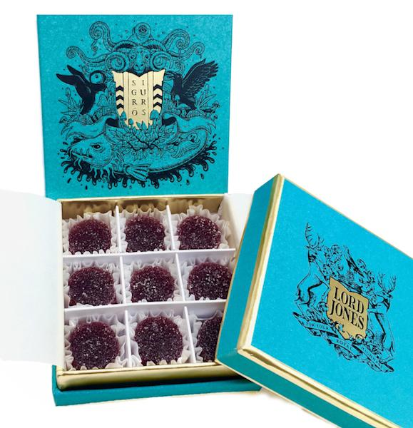 """Wild Sigurberry """"medicated gumdrops"""" are """"inspired by the flavors of foraged Icelandic berries"""""""