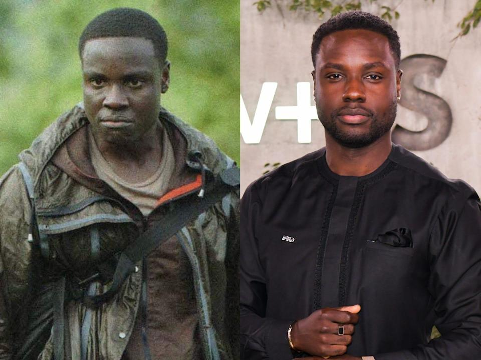"""Dayo Okeniyi from """"The Hunger Games"""""""