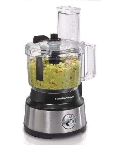 <p>From preparing soup to making their go-to guacamole, this <span>Hamilton Beach Food Processor & Vegetable Chopper</span> ($45) will be a helpful kitchen tool.</p>