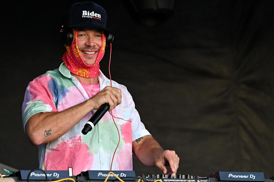 <p>Diplo and Major Lazer performed during the Music Is The Weapon Drive-In Tour in Burlingame, California.</p>