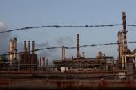 FILE PHOTO: The installations of the Hovensa petroleum refinery are seen in St Croix