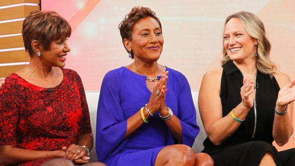 PHOTO:'GMA' co-anchor Robin Roberts is celebrating her fifth 'birthday,' the anniversary of the day she received a life-saving bone marrow transplant. (Lou Roco/ABC)