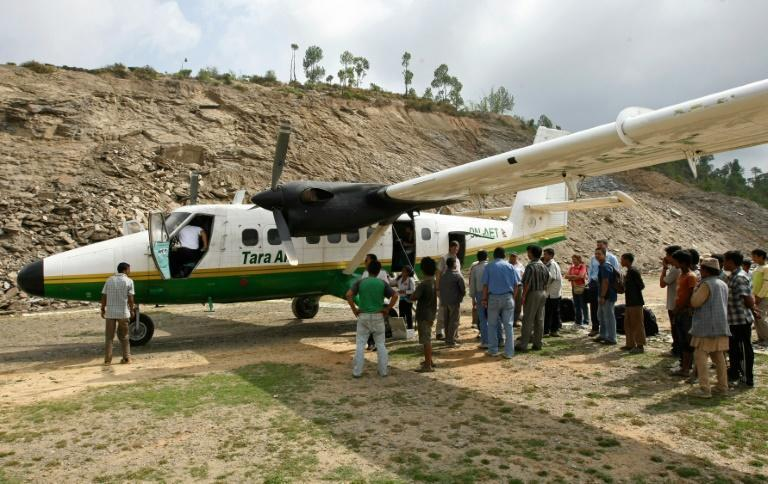 A Tara Air Twin Otter aircraft, similar to one that crashed on February 24, 2016 in Nepal